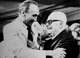 Slide Gallery Sandro Pertini e Bearzot